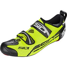 Sidi T-4 Air Carbon Shoes Herre yellow/black